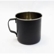 Кружка для коктейля 500 мл. нерж. с черным напылением (MUG16PBLK) /1/
