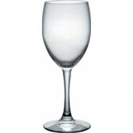 Бокал для вина 250 мл. d=72, h=185 мм красн. Диамант /6/ /4324/ (166301)