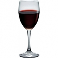 Бокал для вина 190 мл. d=68, h=173 мм бел. Диамант /12/ (166310)