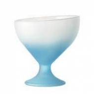 Креманка 360 мл. d=118, h=128 мм матовая синяя Калифорния /6/
