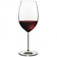 Бокал для вина 600 мл. d=70, h=240 мм красн. Винтаж /6/24/