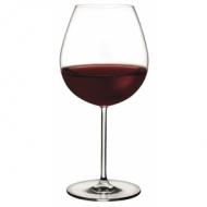 Бокал для вина 690 мл. d=70, h=230 мм красн. Винтаж /6/24/