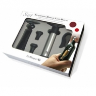 Набор для вина 5 пр.: штопор, обрезатель фольги, помпа+2 вакуумные пробки VB /4/