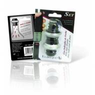 Пробка вакуумная для вина набор 2 шт. без помпы (к помпе FIC 002) VB /100/