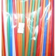 "Трубочки кокт.0,5*12,5 см. 100шт.цветные ""MINI""/200/"