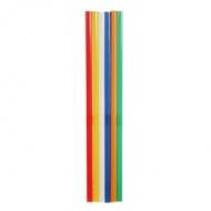 """Трубочки кокт.0,8*24 см. 500 шт. цвет.MIX прямые""""MILK""""/10/"""