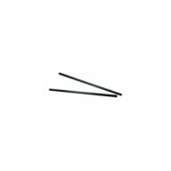 Трубочки кокт.0,5*24 см. 1000 шт. черные прямые/12/