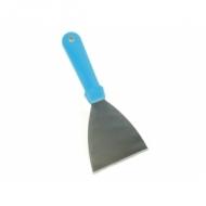 Лопатка для пиццы L=24,5 см. треугольная. 11*10 см.  нерж, ручка пластик Gimetal