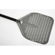 Лопата для пиццы прямоуг.перфор. 33*33 см. l=150 см. алюм. с анодным покр. Gimetal