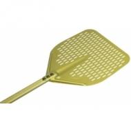 Лопата для пиццы прямоуг.перфор. 33*33 см. l=140 см. алюм. Gimetal