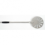 Лопата для пиццы поворотная перфор. d=17 см. l=150 см, нерж. Gimetal