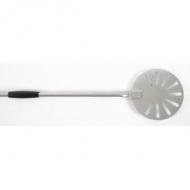Лопата для пиццы поворотная перфор. d=23 см. l=150 см, нерж. Gimetal