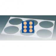 Панно из 6 кругов d=16 см. 59*39 см.