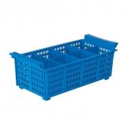 Емкость для столовых приборов 8 секций 43*20,5*14 см. Inox Macel