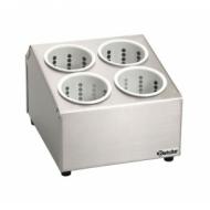 Емкость для столовых приборов 4 стакана (подставка) со стаканами BARTSCHER