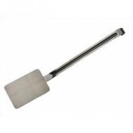 Лопатка L=38,5 cм изогнутая нерж. ручка