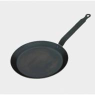 Сковорода для блинов d=18 см. голубая сталь (индукция) De Buyer