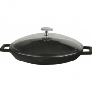 Сковорода чугун d=260мм. черная LAVA