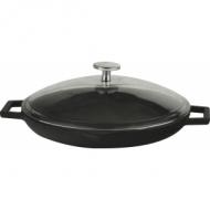Сковорода чугун d=300мм. чёрная LAVA