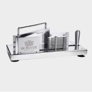 Слайсер для овощей/фруктов механич. (ломтик 5,5 мм) нерж De Buyer