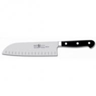 Нож японский с бороздками Santoku 180/300 мм, кованый MAITRE Icel /6/