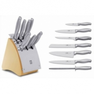 Набор стальных ножей 7 пр.в дерев.подставке Icel Z