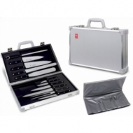 Набор ножей для шеф повара 15 пр. в чемодане Icel Z