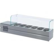 Витрина холодильная ATESY Болоньезе-6 от 2 до 8 °С