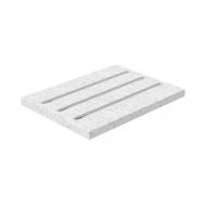 Столешница из искусственного камня под подносы Luxstahl Premium Pixel 600 мм