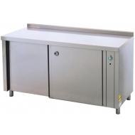 Стол тепловой ATESY СТП-3/1600 1600х600х870 мм нерж с бортом