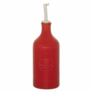 Бутылка для масла и уксуса 0,45 л. 7,5 см. красная