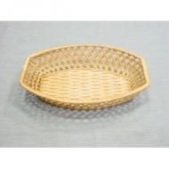 Корзина для хлеба ладья 26х19 см. корич. (DD4)