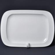 Блюдо прямоугольное l=360*245 мм. Башкирский фарфор /3/