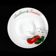 Тарелка для пасты 300мм Томаты Cabare Classic