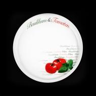 Тарелка для пиццы 300мм Томаты Cabare Classic