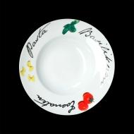 Тарелка для пасты 300мм Черри Cabare Classic