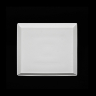 Тарелка квадратная 240мм Corone