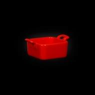 """Форма для запекания 68х68х35мм с двумя ручками красная """"Corone"""""""
