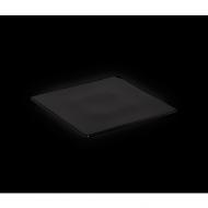 Блюдо квадратное 255х255 мм черное «Corone»