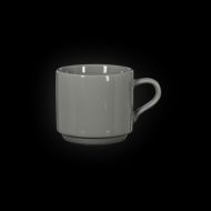 Чашка чайная 250 мл серая «Corone»