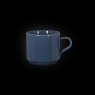 Чашка чайная 250 мл синяя «Corone»
