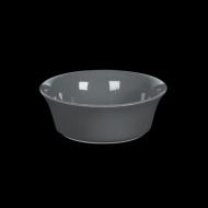 Салатник 450 мл серый «Corone»