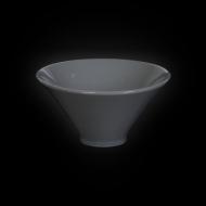 Салатник 150 мм серый «Corone»