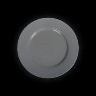 Тарелка мелкая 160 мм серая «Corone»