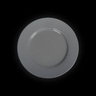 Тарелка мелкая 200 мм серая «Corone»