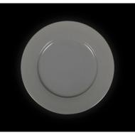 Тарелка мелкая 230 мм серая «Corone»