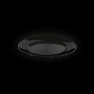 Блюдо овальное 202х160 мм черное «Corone»