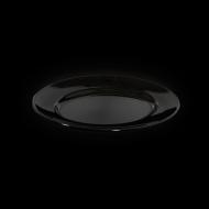 Блюдо овальное 285х225 мм черное «Corone»