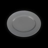 """Блюдо овальное 285х225х20мм серое """"Corone"""""""