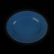 "Блюдо овальное 285х225х20мм синее ""Corone"""